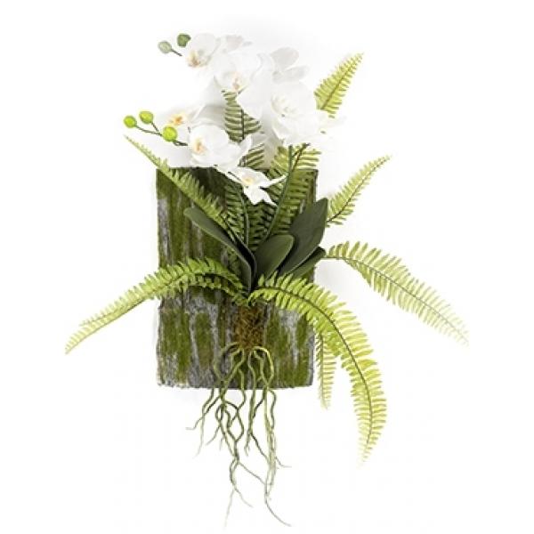 Kunstplant Phalaenopsis fern deco L