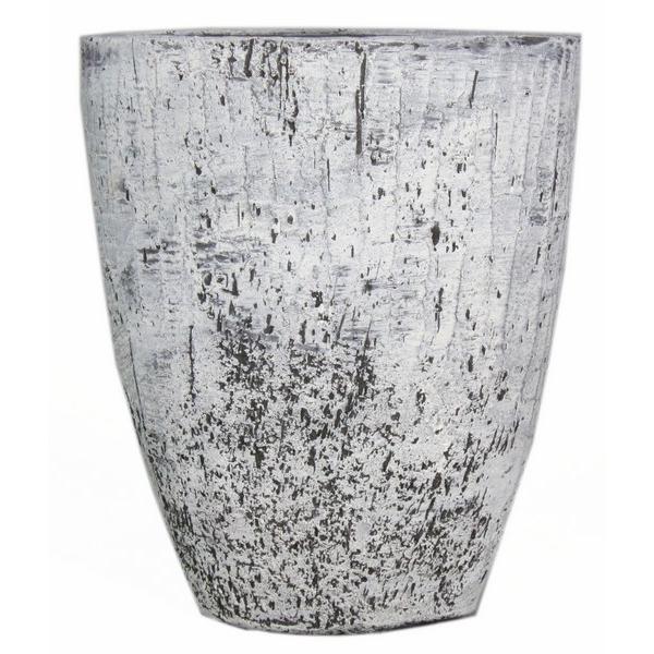 Keramieken vaas Dick beton 50 cm