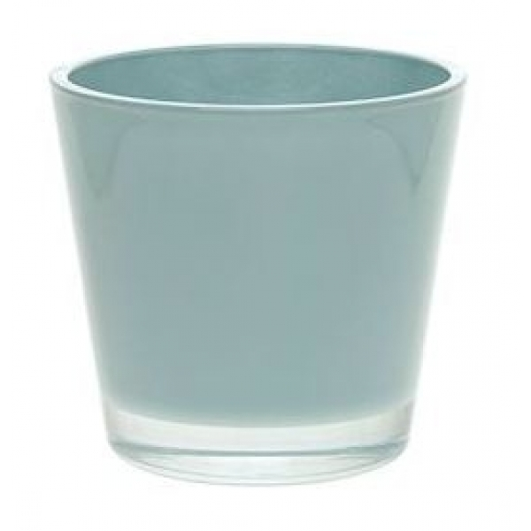 Glaspot Max turqoise heavy glas