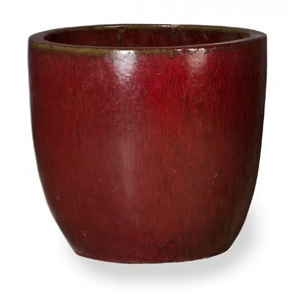 Keramieken bloempot Classic Red Couple 53 cm