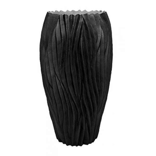 Plantenbak River zwart 70 cm