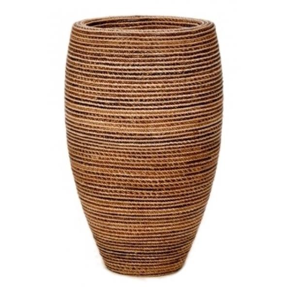 Plantenbak Honey Partner gemaakt van gevlochten touw 80 cm