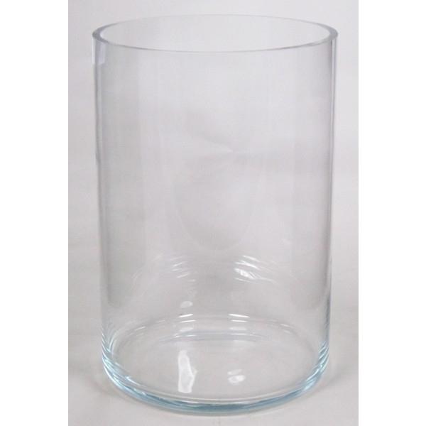 Cilinder vaas heavy glas Ø 30 cm met een hoogte van 46 cm
