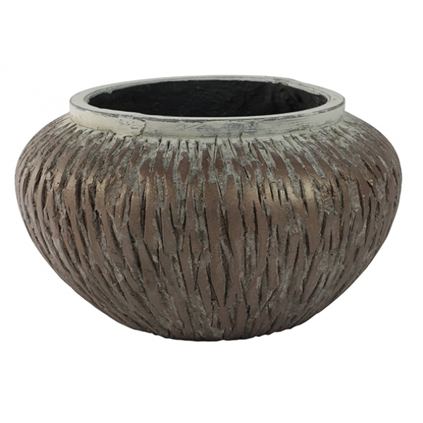 Keramieken bowl Lava latte cement