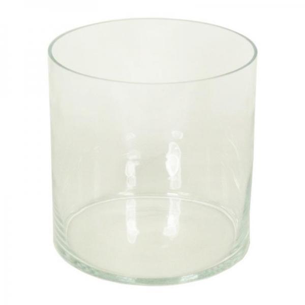 Cilinder vaas glas Ø 25 cm met een hoogte van 25 cm