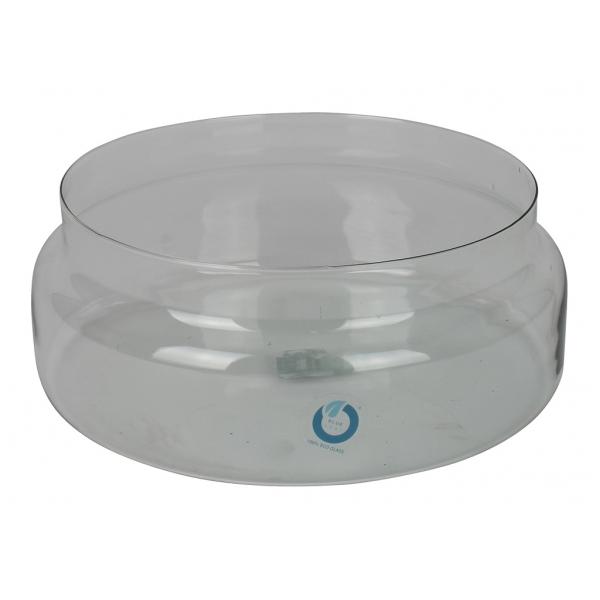 Glas schaal 10 cm hoog