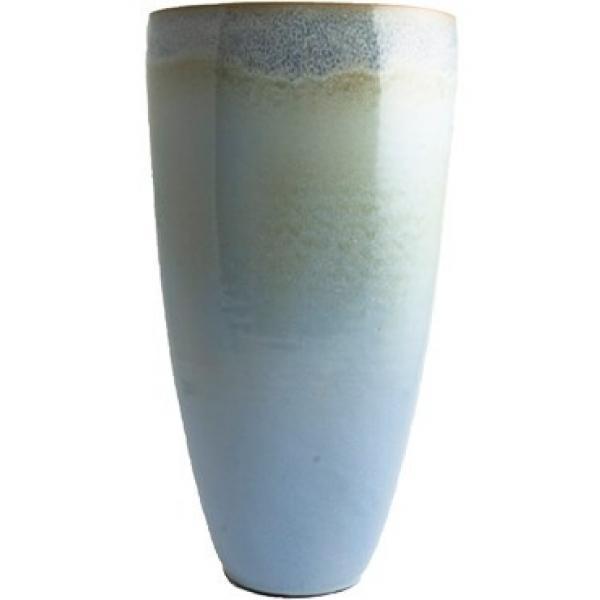 Keramieken vaas Void lavendel B 37 cm