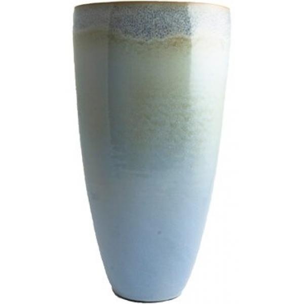 Keramieken vaas Void lavendel B 41 cm