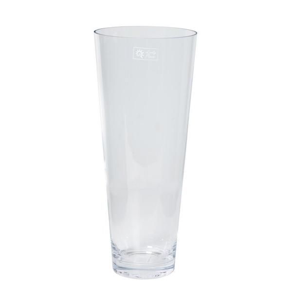 Cilinder vaas konisch Ø 18 cm met een hoogte van 43 cm