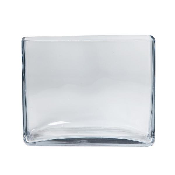 Accubak glas langwerpig heavy glas