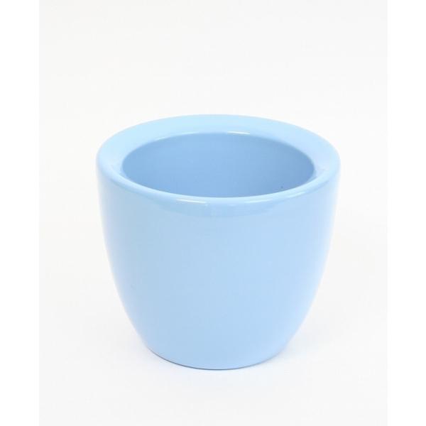 Keramieken bloempot Mosa adrial blauw