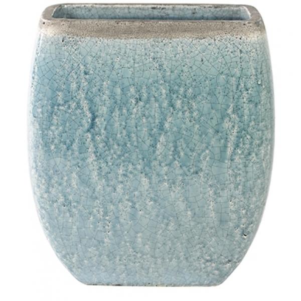 Keramieken plantenbak Tijn light blue