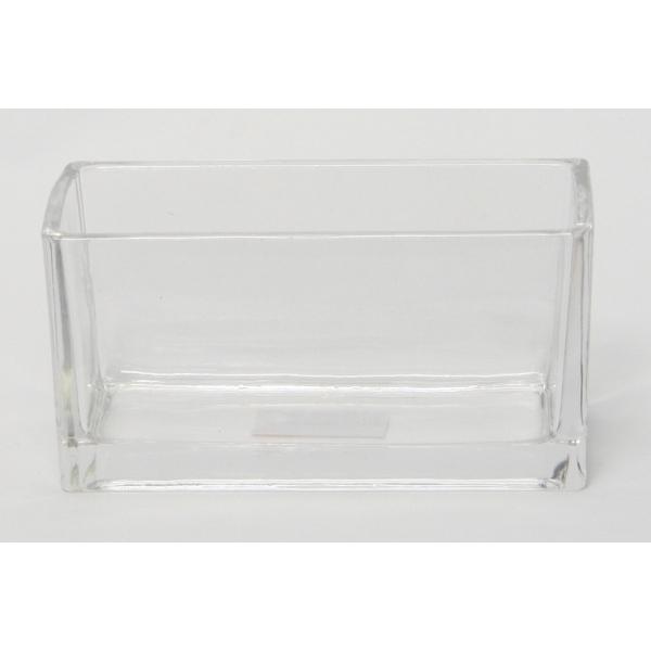 Accuschaal laag konisch langwerpig 20 cm heavy glas