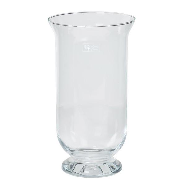 Windlicht glas transparant glas Ø 22 cm