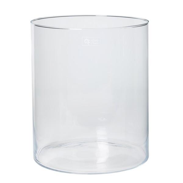 Cilinder vaas glas Ø 29 cm met een hoogte van 35 cm