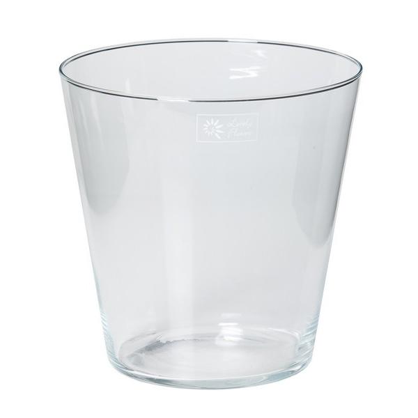 Glaspot konisch Ø 22 cm
