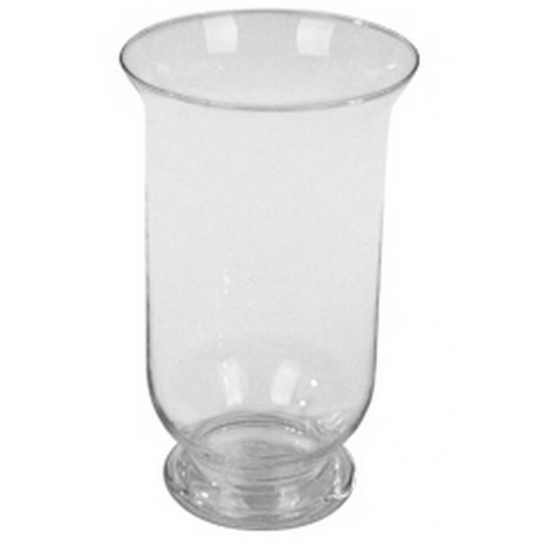 Windlicht glas transparant glas Ø 15 cm