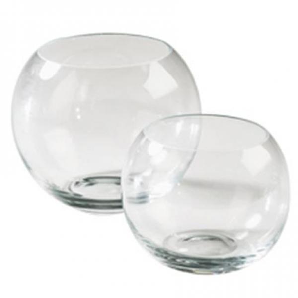Glazen bolvaas diameter 19 cm
